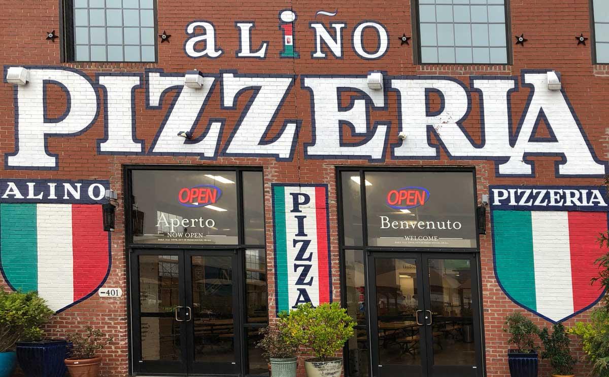 Exterior Alino Pizzeria