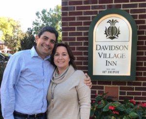 Caroline and Mariano Doble, owners of the Davidson Village Inn