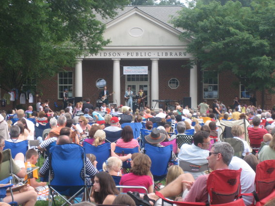 Image Courtesy: Davidson Concerts on the Green