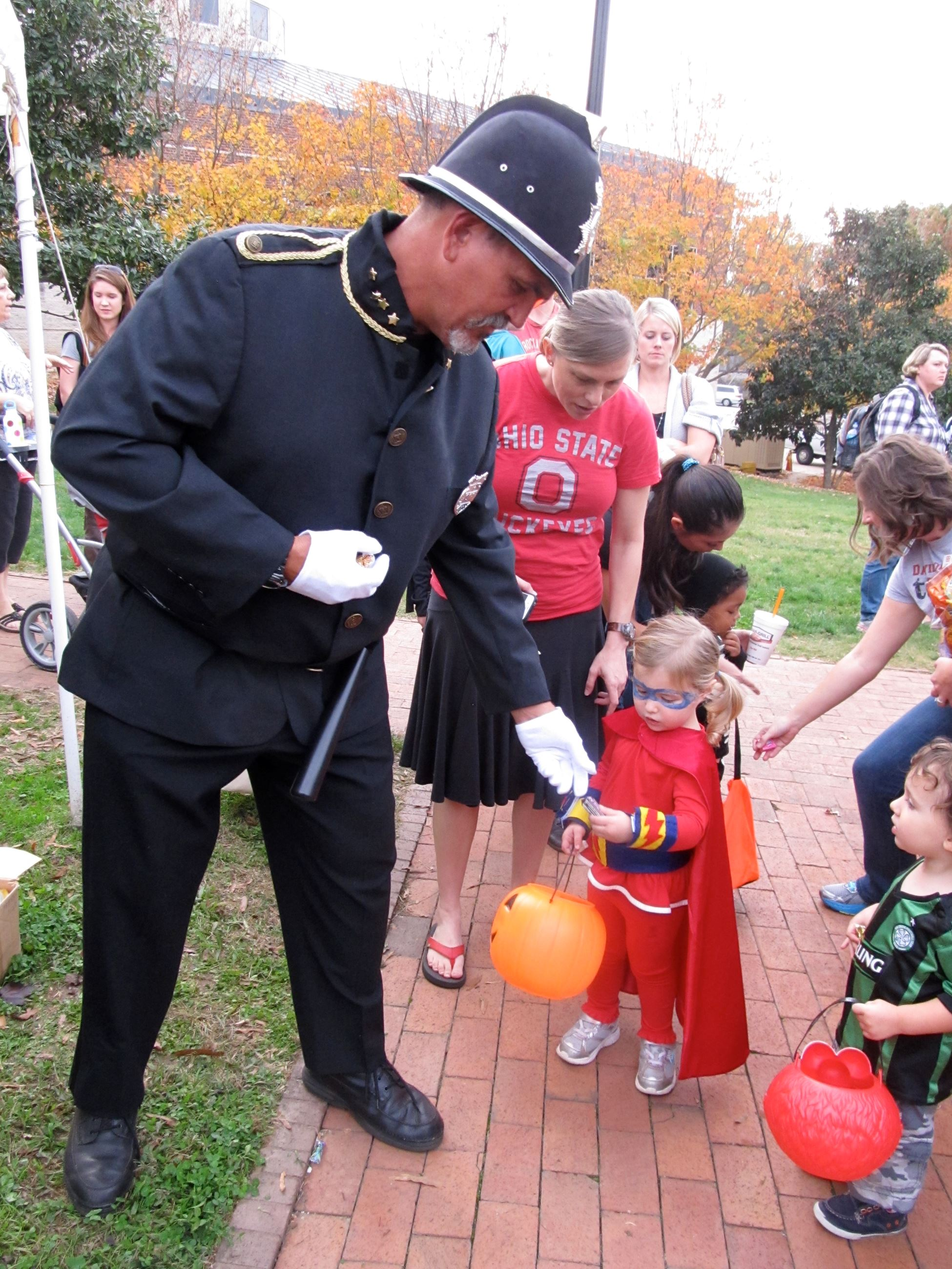 Image Courtesy: Davidson Halloween March