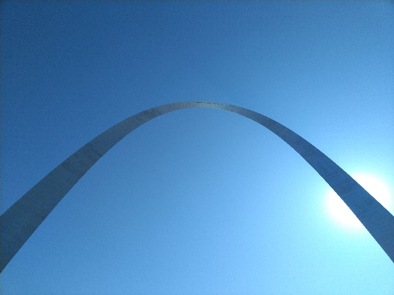 The Arch in St. Louis, MO