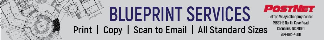 Postnet ad - Blueprints banner