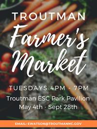 Image Courtesy: Troutman Farmers Market