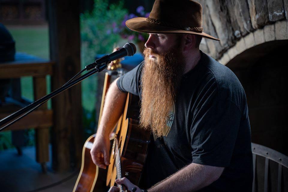 August 29, 2020 – Adam Harris Thompson Acoustic at Boatyard Eats – Cornelius