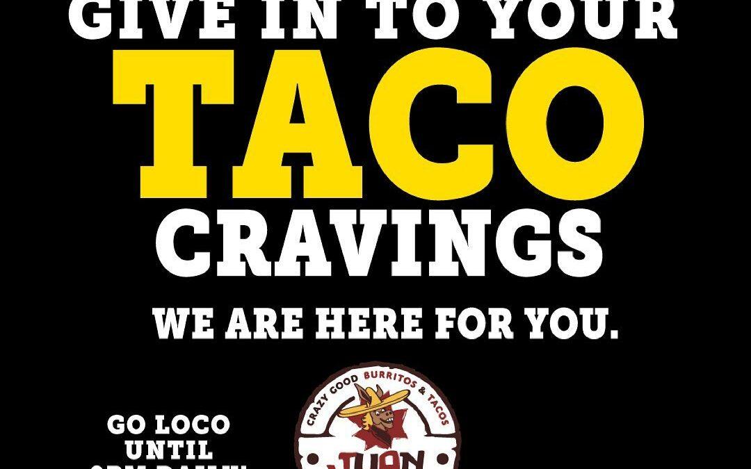 Local Restaurants – Juan Loco- Cornelius