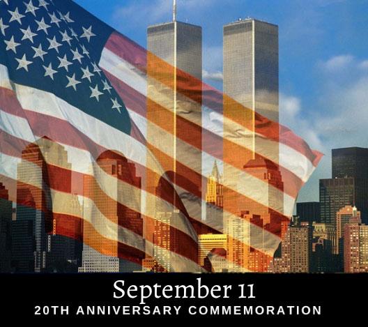 SERVING WITH LOVE: 9/11 Memorial Walk