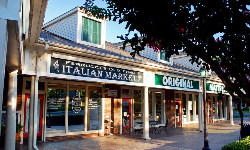 Local  Restaurants – Ferrucci's Old Tyme Italian Market – Cornelius