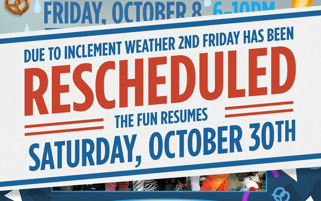 Things to Do: – Oct. 30, 2021 – 2nd Friday – Octoberfest Rescheduled for – Old Town Cornelius