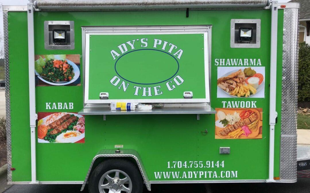 Local Food Trucks – Ady's Pita on the Go