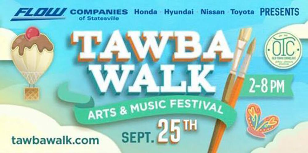 Things to Do – Sept. 25, 2021 – 'Tawba Walk Arts & Music Festival- Cornelius