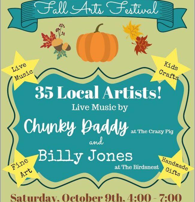 Things to Do: – Oct. 9, 2021 -Davidson Fall Arts Festival – Davidson